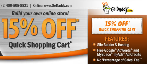 Godaddy eCommerce Hosting